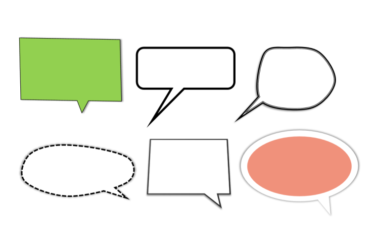 speech bubbles for elearning free download