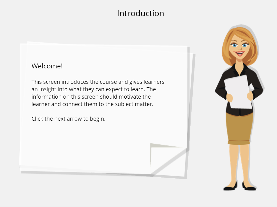 storyline templates course starter flat design office theme